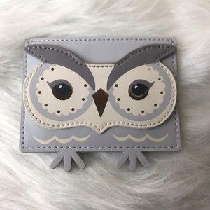 Kate Spade Star Bright Owl Card Holder
